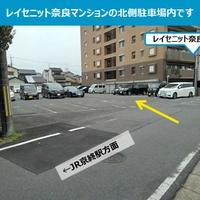 タイムズのB レイセニット奈良 第二駐車場の写真