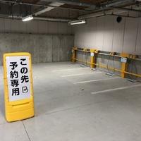 タイムズのB JR横浜バイクパーキングの写真