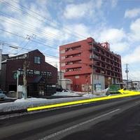 タイムズのB 弘前市城東中央2丁目 丸大株式会社 来客者用駐車場の写真