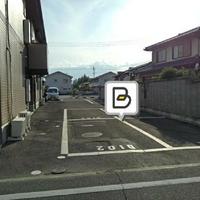タイムズのB LFハイムD駐車場の写真