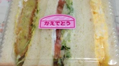 どう サンドイッチ かえで