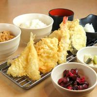 てんぷら定食 あげな ヨドバシ博多店の写真