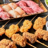 串と肉炙り寿司が旨い個室居酒屋 KUSHIEMON‐串笑門‐静岡本店の写真