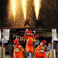 手筒花火発祥の地  吉田神社の写真