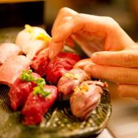千日前 肉寿司の写真