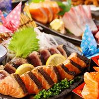 熟成魚と日本酒と藁焼き 中権丸 なんば道頓堀店の写真