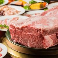 炭火黒毛和牛 焼肉とホルモン食べ放題 焼肉天龍 新橋店の写真