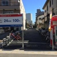 名鉄協商パーキング 草加駅東口駐輪場の写真