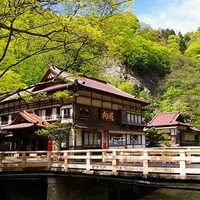 会津東山温泉 向瀧の写真