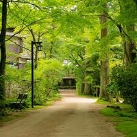 静かな森と明治・大正離れの宿 環翠楼の写真
