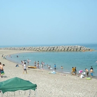 長浜海水浴場の写真