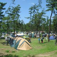 休暇村能登千里浜キャンプ場の写真