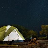 東洋町白浜キャンプ場の写真