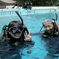潜水士 夫婦の写真