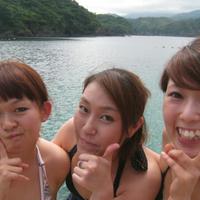海遊びの写真