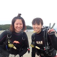 沖ノ島ダイビングサービス・マリンスノーの写真