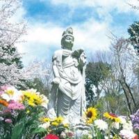 滋賀ペット葬儀社 日本ペットランド 琵琶湖動物霊園 心塔の写真