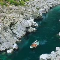 大歩危峡観光遊覧船の写真