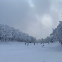 女鹿平温泉めがひらスキー場の写真