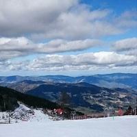 井川スキー場 腕山の写真