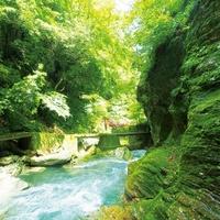 中津渓谷の写真