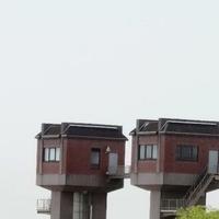 岩保木水門の写真