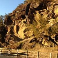 虫喰岩の写真