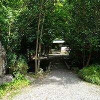 天柱山吐月峰柴屋寺庭園の写真