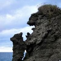 親子熊岩の写真