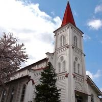 鶴岡カトリック教会天主堂の写真