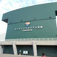 ひなた宮崎県総合運動公園屋内練習場の写真