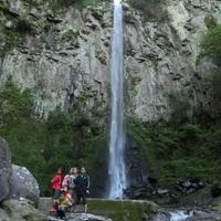 東椎屋の滝の写真