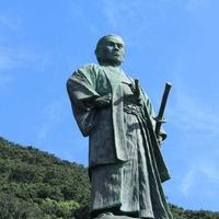 中岡慎太郎像の写真