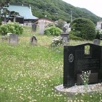 外国人墓地の写真