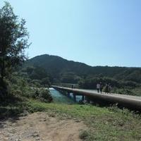 佐田沈下橋の写真
