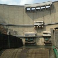 温井ダムの写真