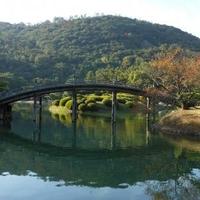 特別名勝 栗林公園の写真