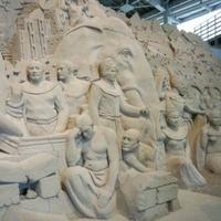 鳥取砂丘砂の美術館の写真