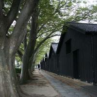 山居倉庫の写真