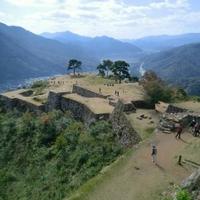 竹田城跡の写真