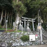 烏帽子形八幡神社の写真