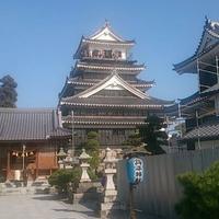 中津城の写真