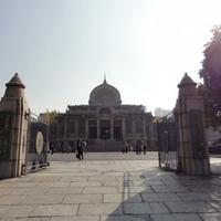 築地本願寺の写真