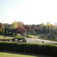 日本庭園「花田苑」・「こしがや能楽堂」の写真
