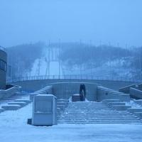 大倉山ジャンプ競技場の写真