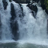 関之尾滝の写真