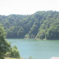 桂沢湖の写真