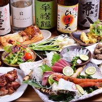 居酒屋 酒・肴・菜・友 ひげ天の写真