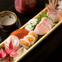 酒家 魚肉菜 虹晴れの写真