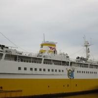 青函連絡船メモリアルシップ八甲田丸の写真